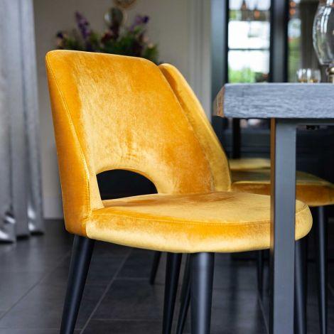 Chaise de salle à manger Tabas - ochre