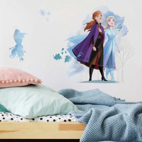 Stickers muraux XL La Reine des Neiges 2 Anna, Elsa & Olaf