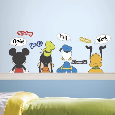 Stickers muraux Mickey Mouse & Friends - Dry Erase