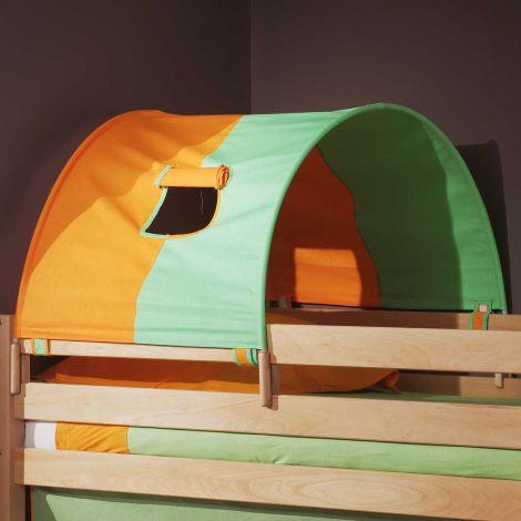 Petit tunnel vert/orange