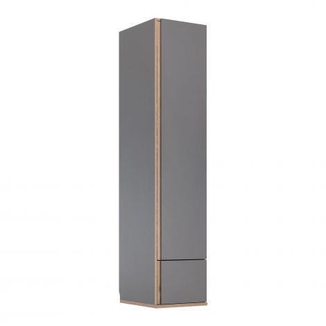 Armoire Birger 50 cm 1 porte - gris
