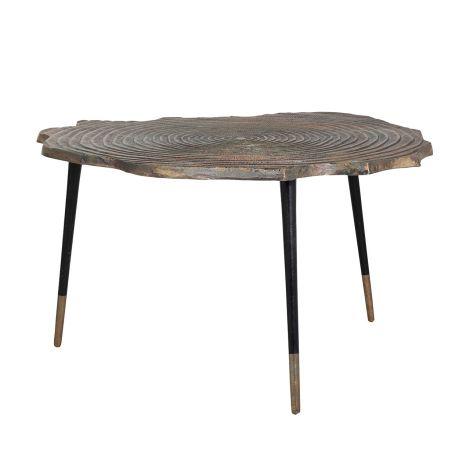 Table basse Sherman Ø90 - or