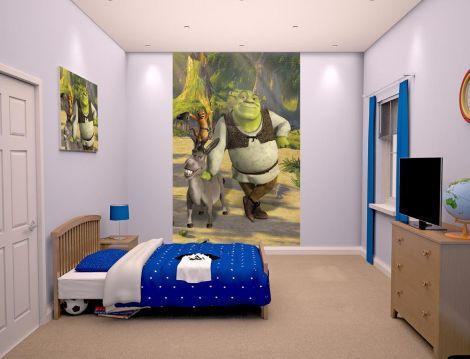 Papier peint Shrek