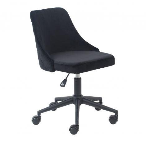 Chaise de bureau Homy - noir