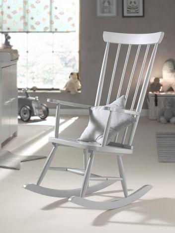 Chaise à bascule Rocky - gris