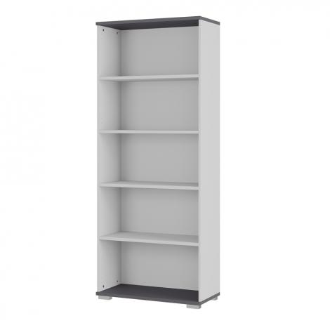 Bibliothèque Presley 80cm - gris clair
