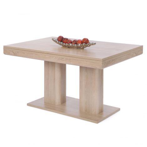 Table à manger extensible Heidelberg 140/220 - chêne sonoma
