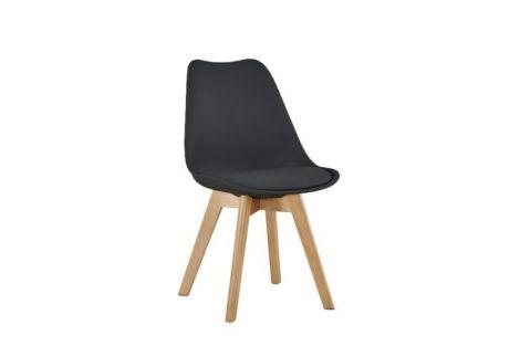 Lot de 4 chaises Malmo - noir