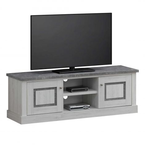 Meuble tv Hannelore 155cm - gris