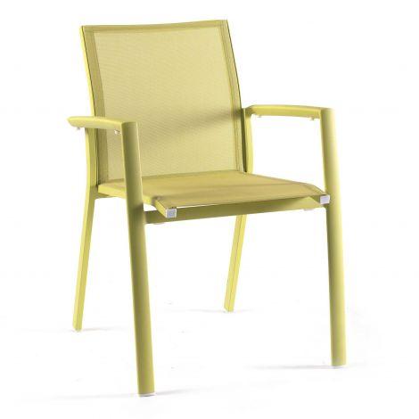 Chaise de jardin Do Re Mi - vert lime