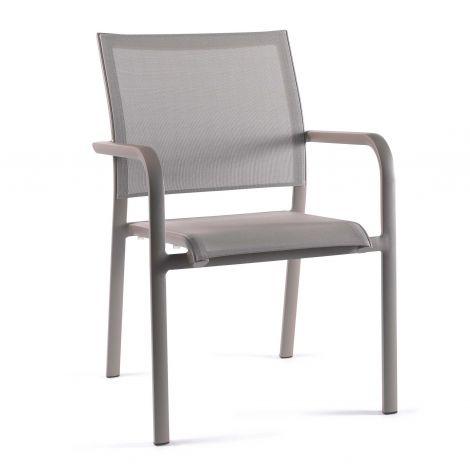 Chaise de jardin Paloma - champagne/taupe clair