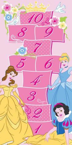 Tapis Princesses Disney - Hopscotch