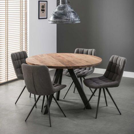 Table à manger Felix Ø120cm - acacia