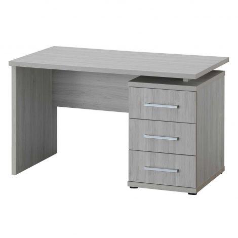 Bureau Maud 130 cm - chêne gris clair