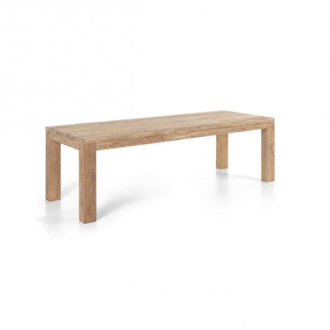 Table de jardin Darwin 250x100 - teck