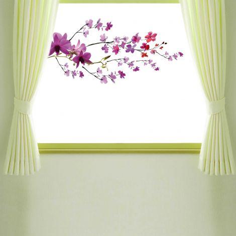 Sticker pour fenêtre Purple Branch
